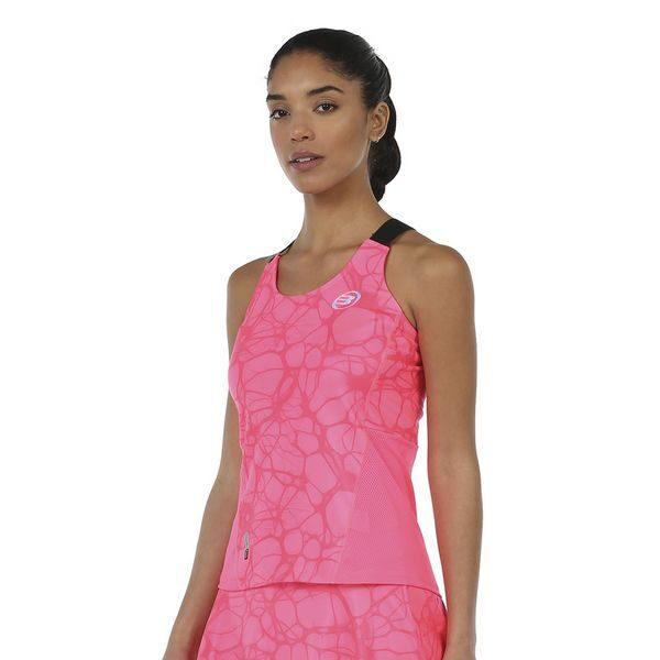 Camiseta Isar Rosa flúor