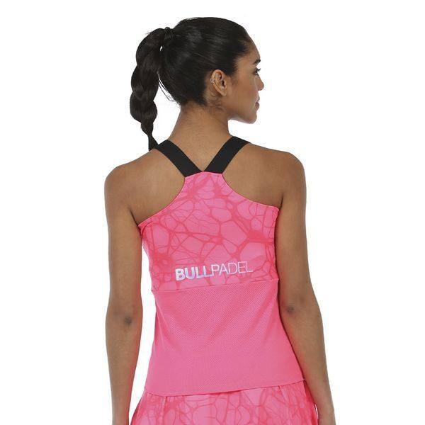 Camiseta Isar Rosa flúor bullpadel