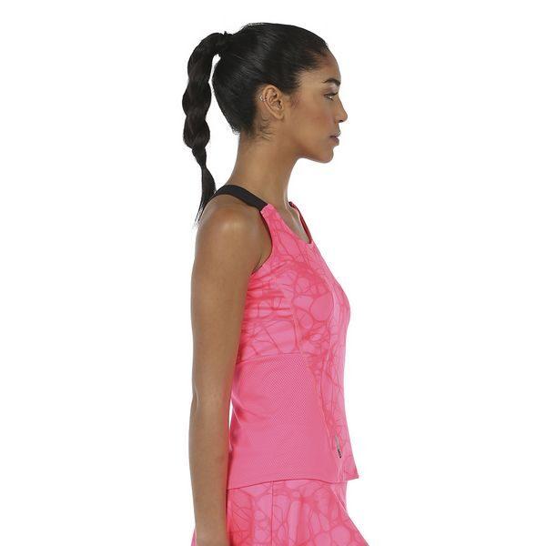 Camiseta Isar Rosa flúor padel