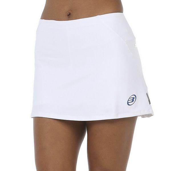 falda luana bullpadel blanca